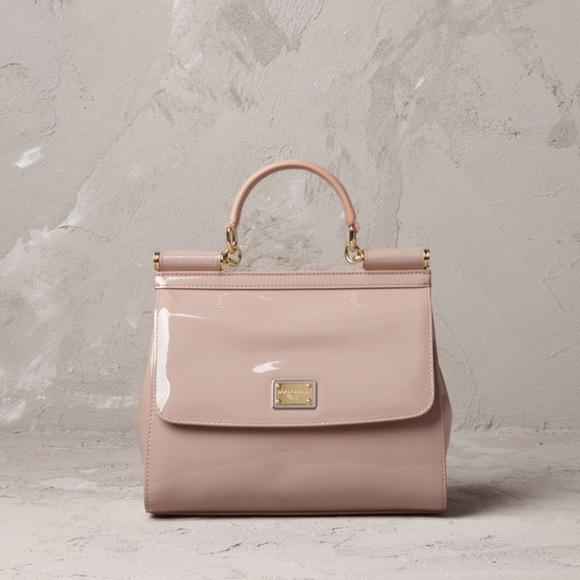 4f135df5b21 Dolce & Gabbana Handbags - Dolce and Gabbana Miss Sicily Patent Leather  Purse
